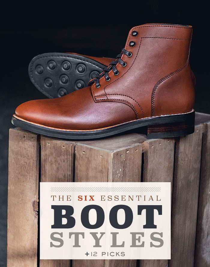 The 6 Essential Boot Style + 12 Picks