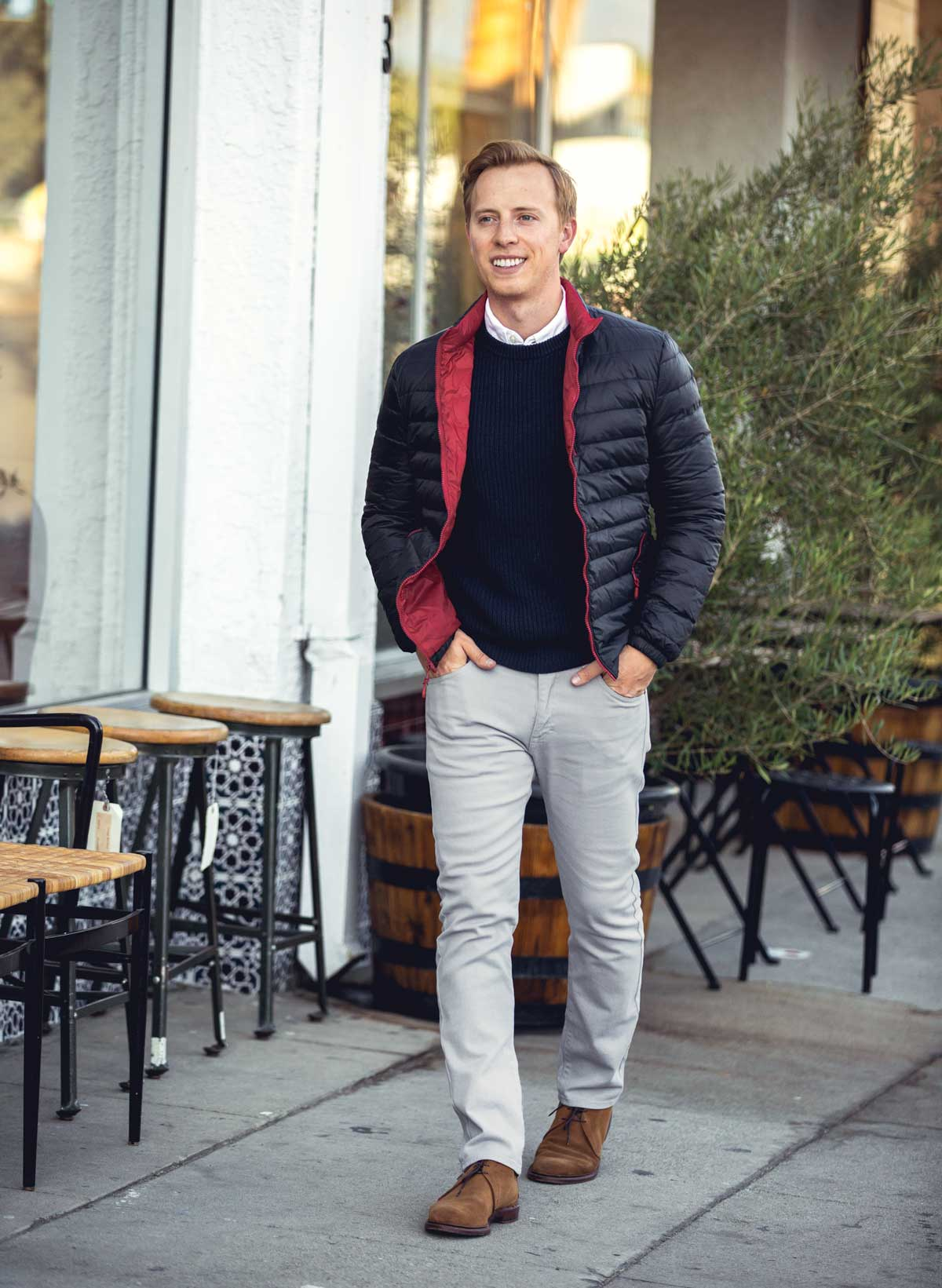 men business casual fall outfit idea fashion style