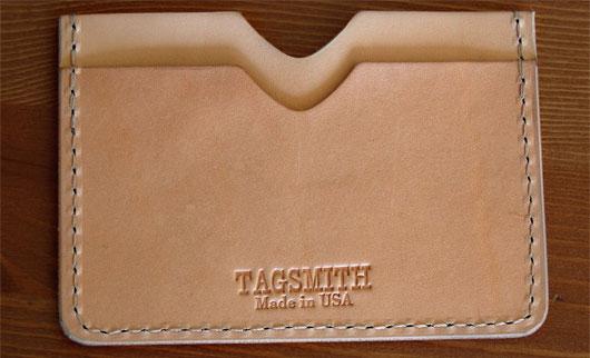 Tag Smith card case