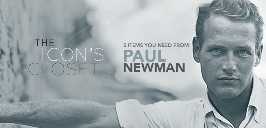 The Icon's Closet: Paul Newman