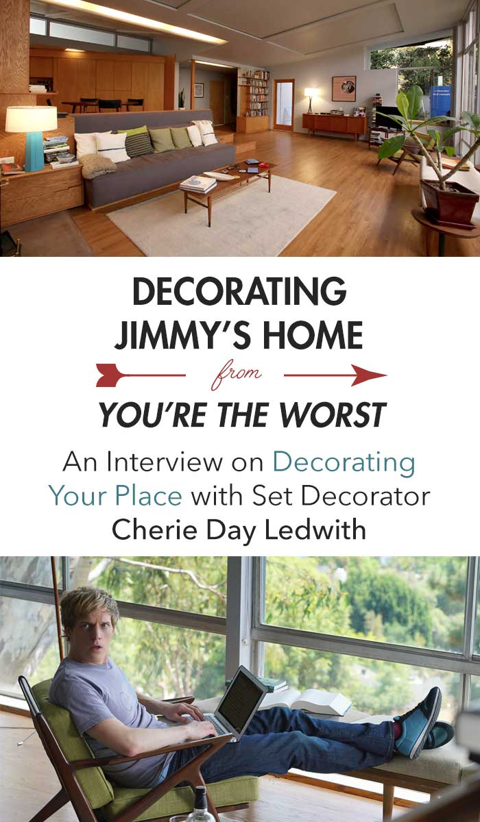 Decorating Jimmy's Home from You're the Worst