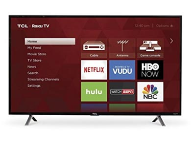 Television with graphical user interface