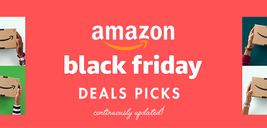 Great Deals from Amazon's Black Friday Sales – Updated All Day