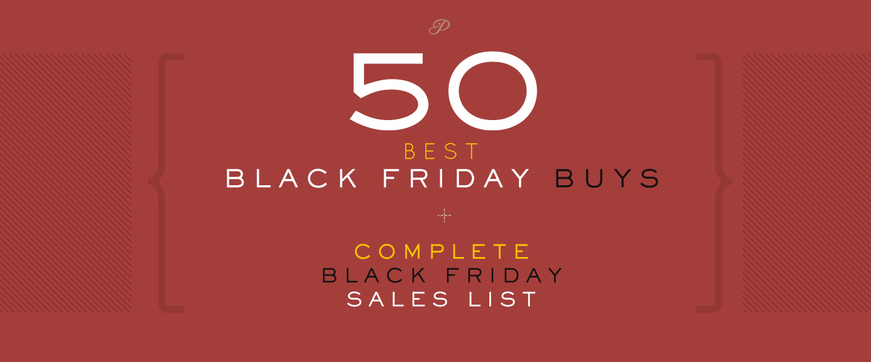 50 Best Men's Black Friday Buys + Complete Black Friday Sales List