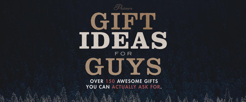 men gift guide ideas