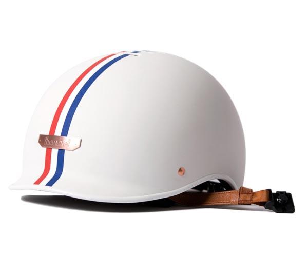 A close up of a helmet
