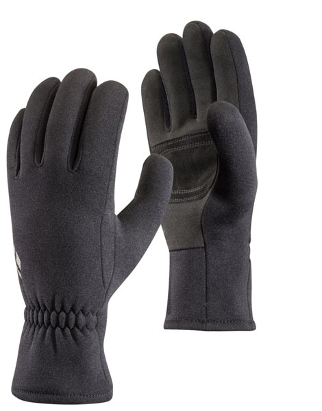 Black gloves