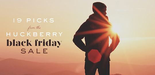 19 Picks from Huckberry's Black Friday Sale