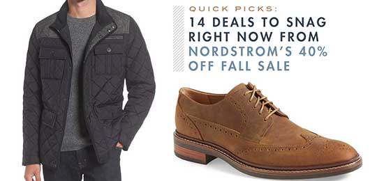 Quick Picks: 14 Deals to Snag Right Now from Nordstrom's 40% Off Fall Sale