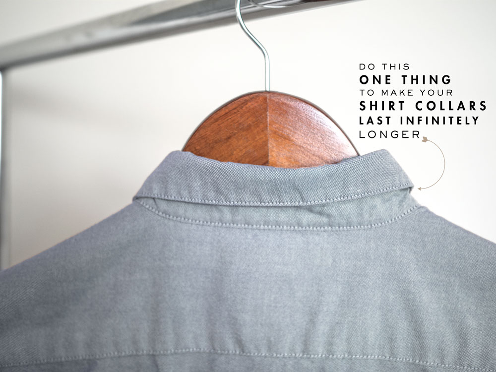how to make shirt collars last longer