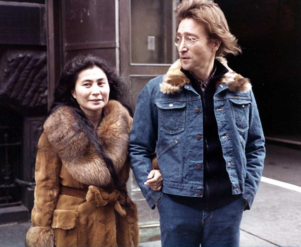 John Lennon trucker jacket