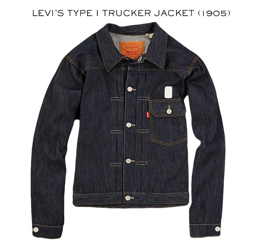 levi's type 1 trucker jacket