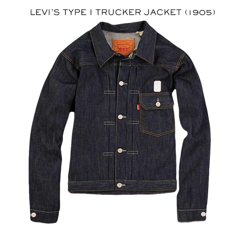 levi's type 1 trucker jacket