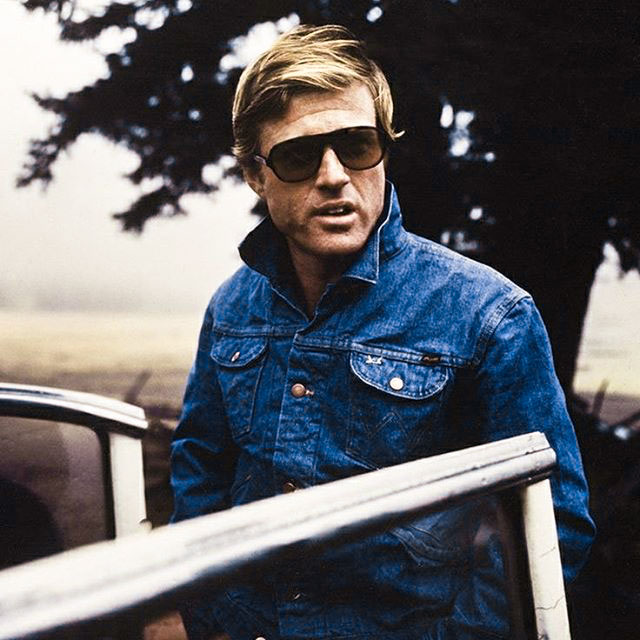 Robert Redford trucker jacket