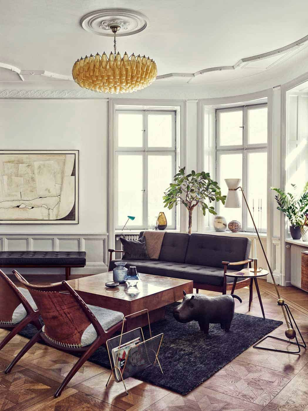 Mid century apartment inspiration