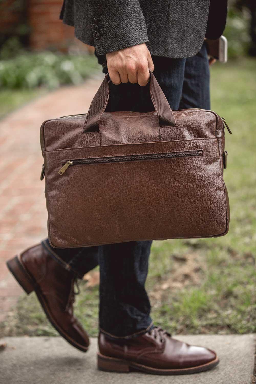 Daniel's NYC briefcase