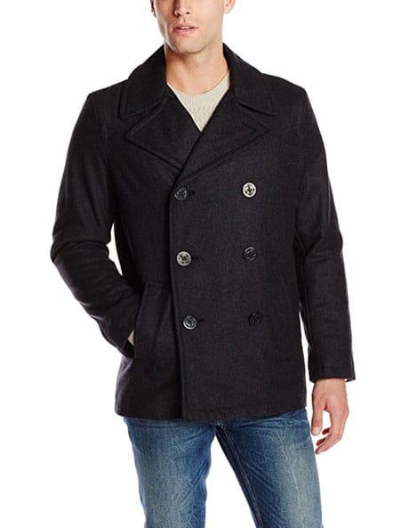 levi's pea coat