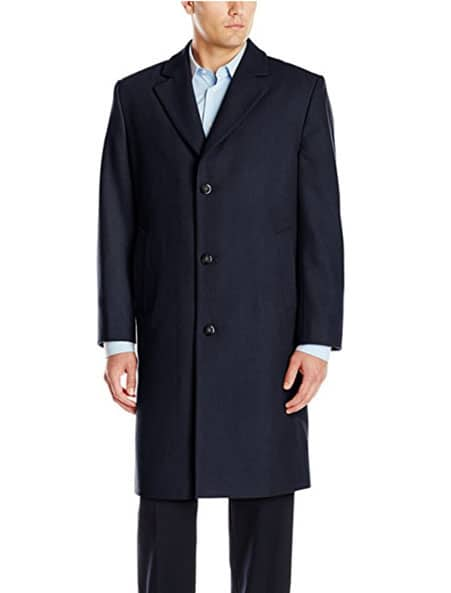 london fog overcoat navy