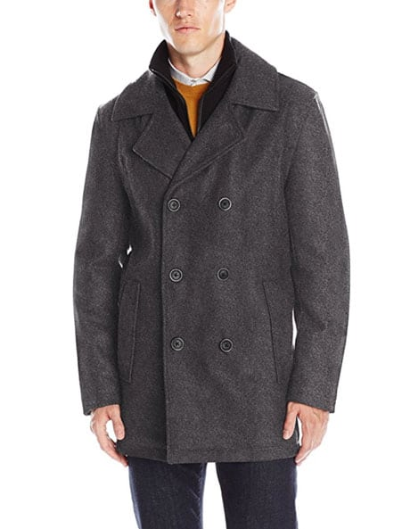 marc new york peacoat