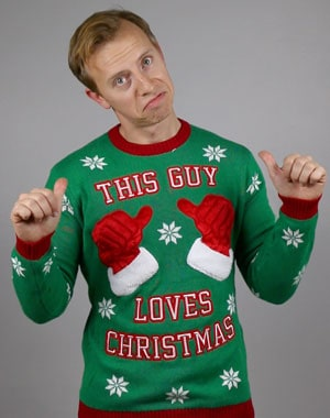 This Guy Loves Christmas - Ugly Christmas sweater