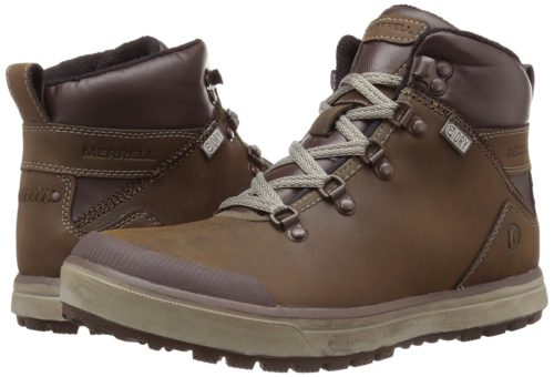 Image of hybrid Merrell winter hiking boots