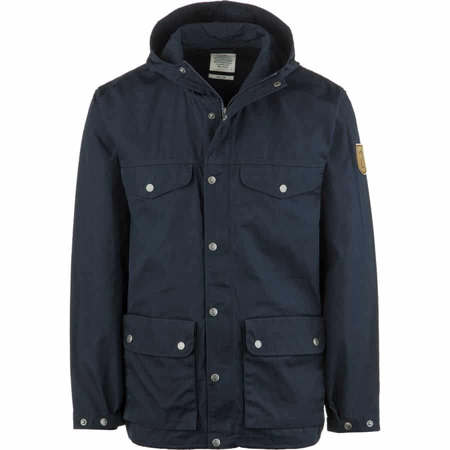 Image of Fjallraven men's greenland jacket in blue