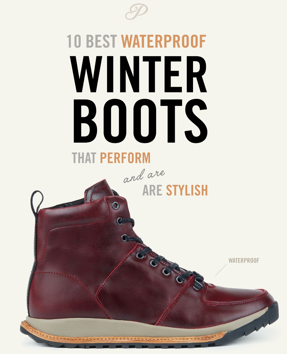 Best Waterproof Shoes For Snow