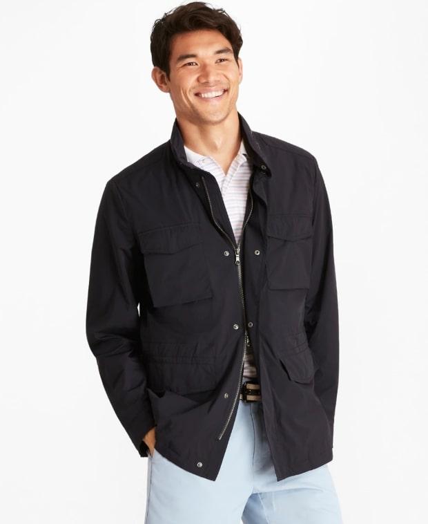 Black field jacket