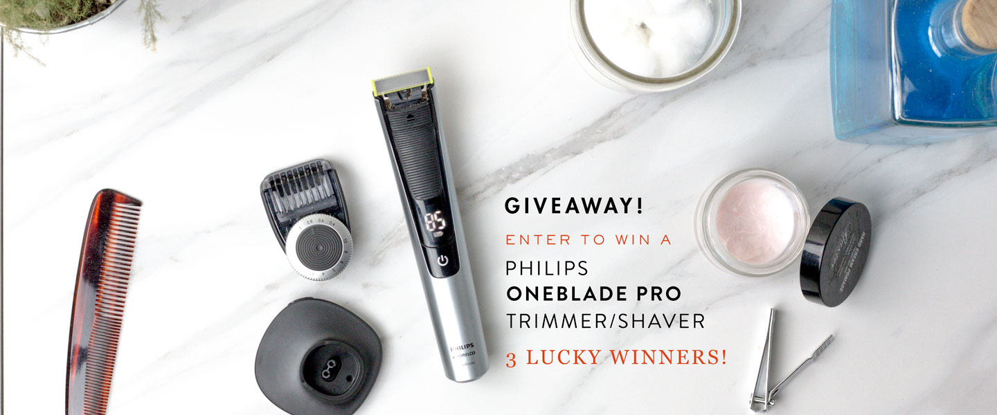 We're Giving Away 3 Philips Norelco OneBlade Pro Electric Razors! Ready to Upgrade Your Daily Shave?