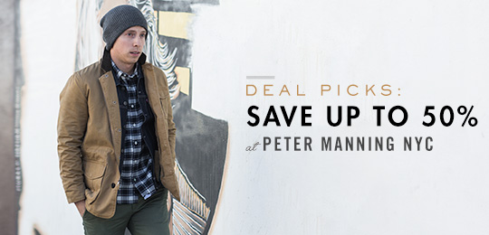 Deal Picks: Save Up to 50% at Peter Manning NYC!