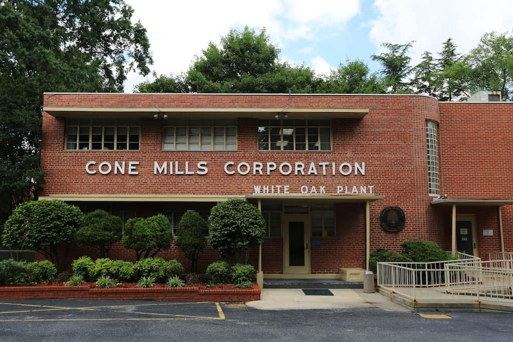 cone mills white oak factory