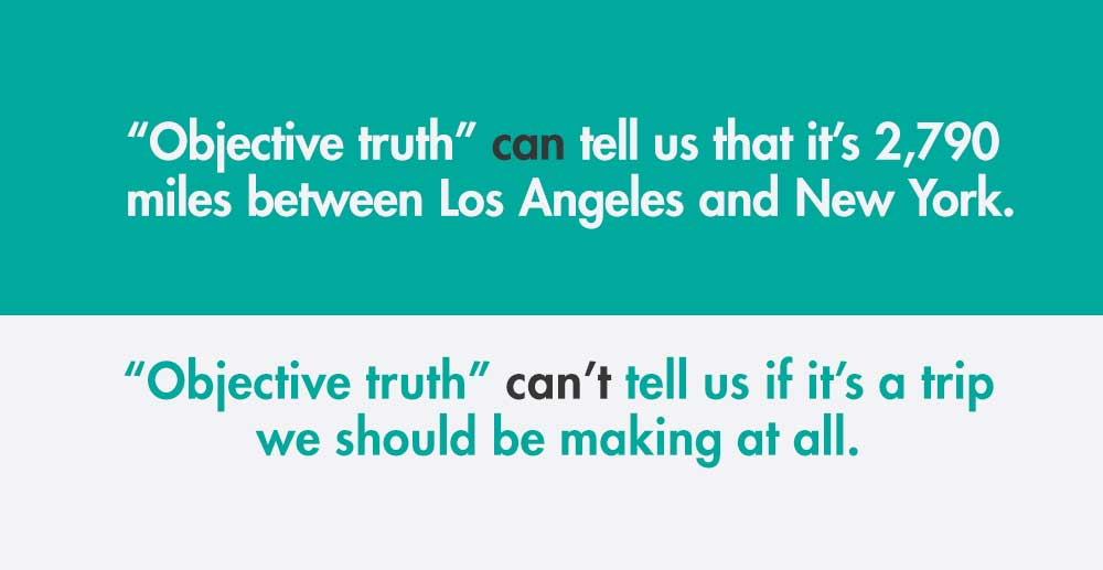 objective quote truth