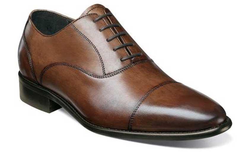 florsheim brown captoe dress shoe - best dress shoes men