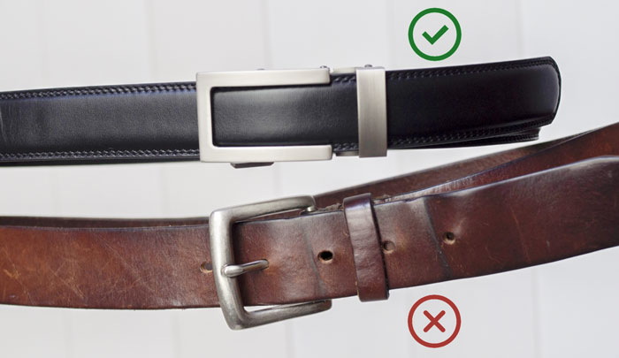 anson belt vs regular belt