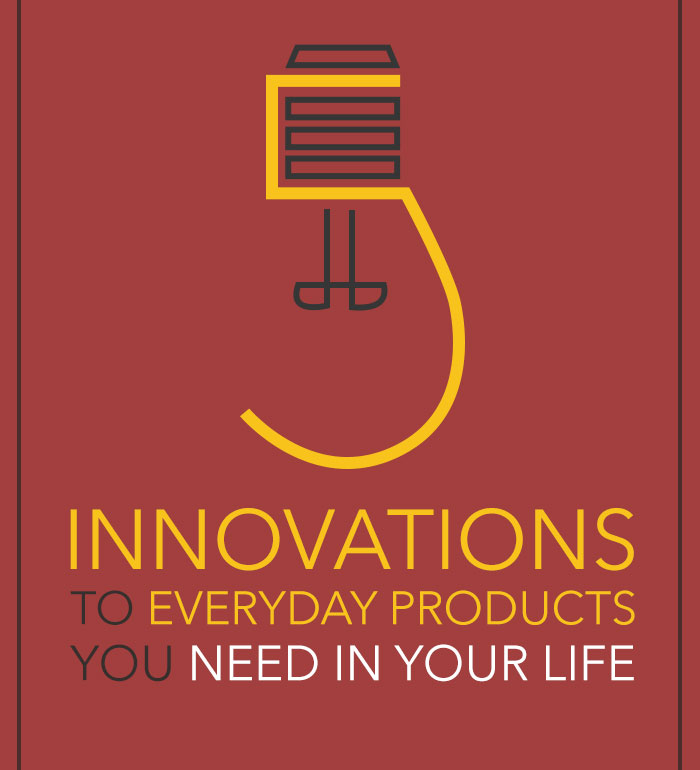 5 Innovations to Everyday Items That You Need In Your Life