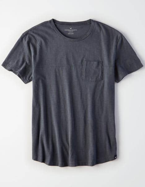 Black pocket tshirt