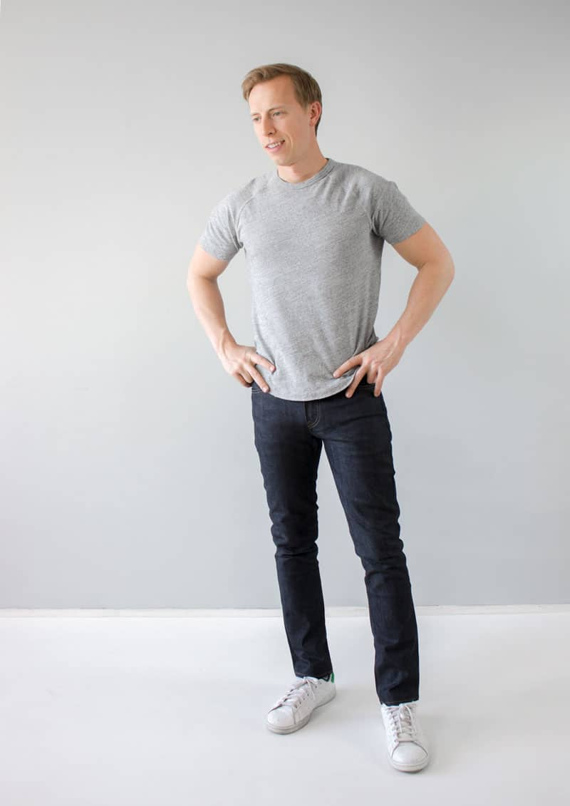 DSTLD slim jeans review