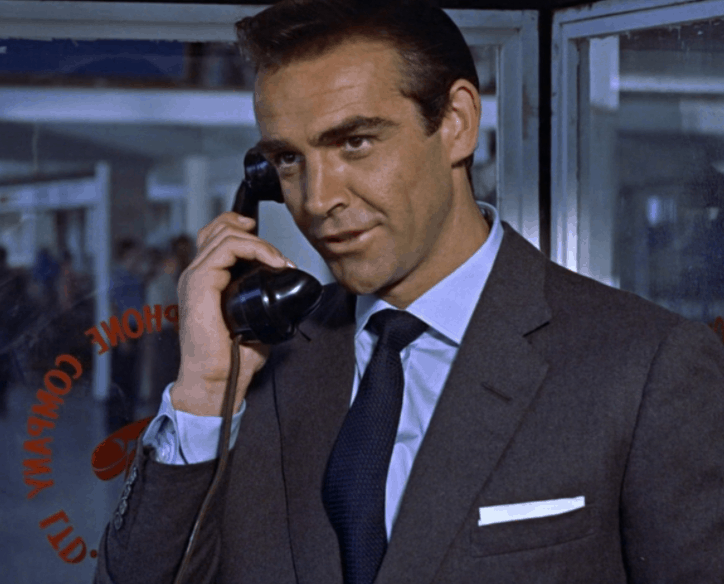 """57342d6498 One of the most iconic aspects of early James Bond fashion remains the  distinctive two-button """"cocktail cuff"""" on many of the shirts worn by both  Sean ..."""