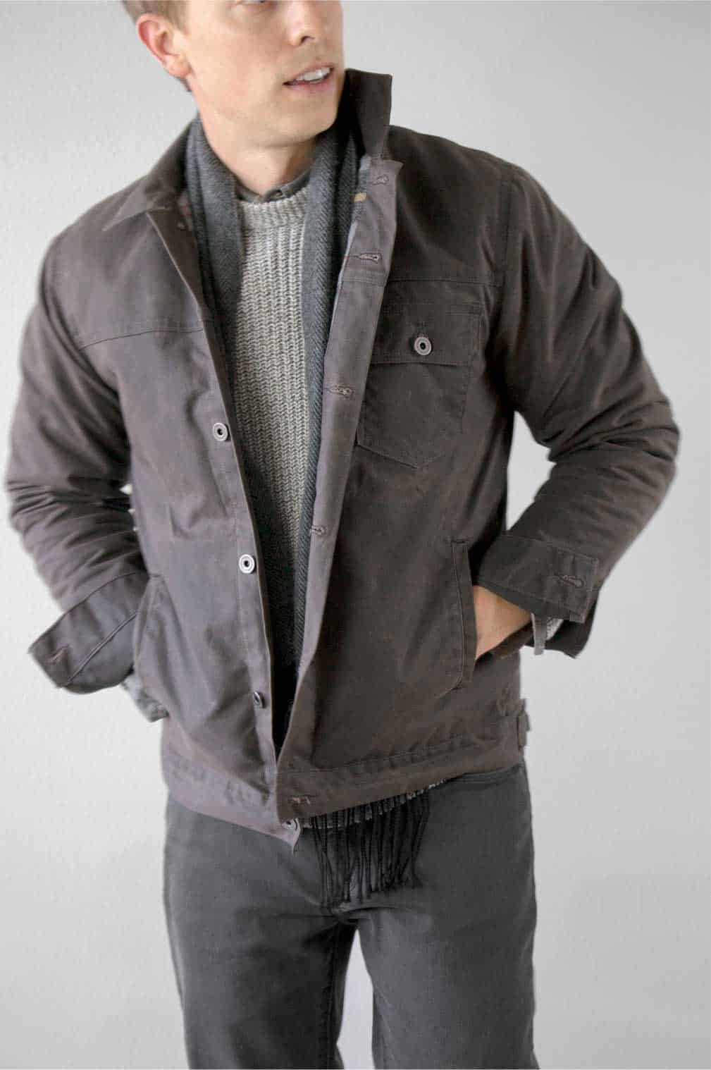 huckberry waxed tucker jacket