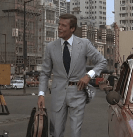 Roger Moore in The Man with the Golden Gun