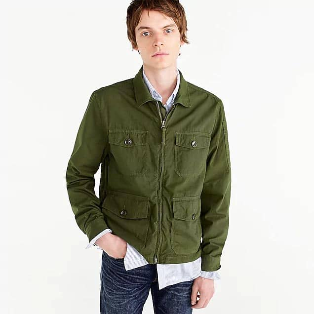 Green JCrew Jacket