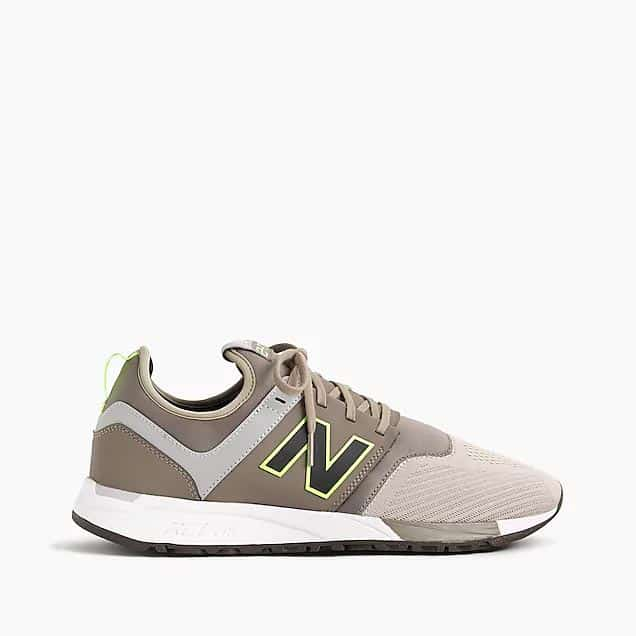 Tan New Balance Sneakers