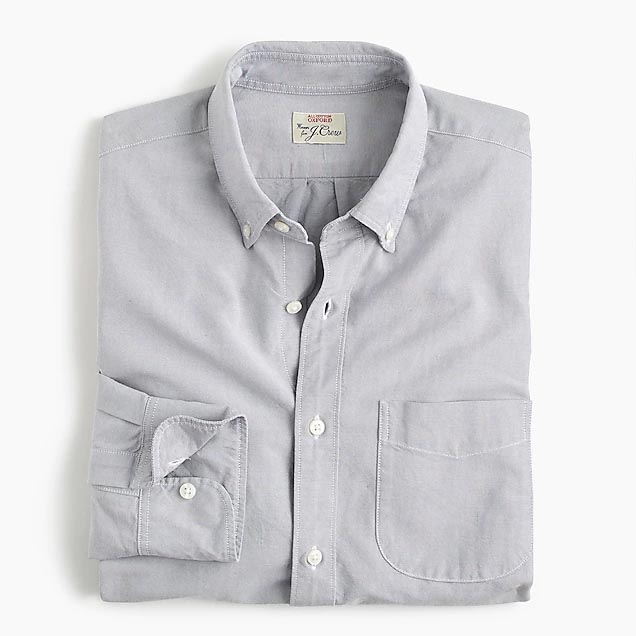Light gray button up shirt
