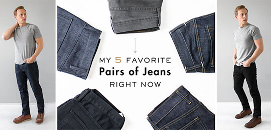 best slim taper jeans for men