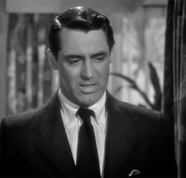 cary grant button down collar