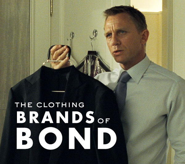 The Clothing Brands Of James Bond