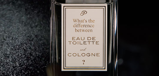 What's The Difference Between Eau de Toilette and Cologne?