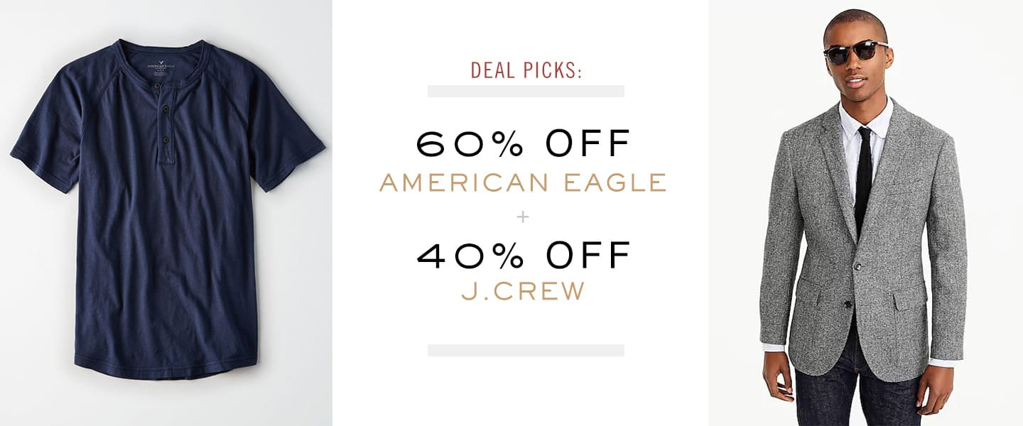 American eagle and jcrew deal picks article header