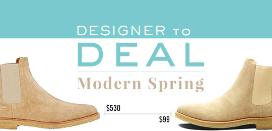 Designer to Deal: Modern Spring
