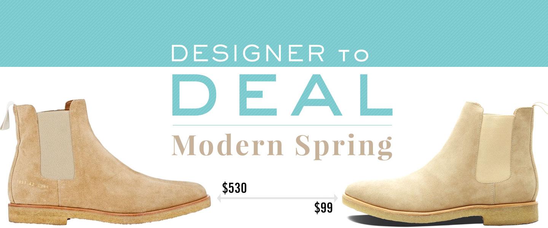 Designer to Deal: Modern Spring